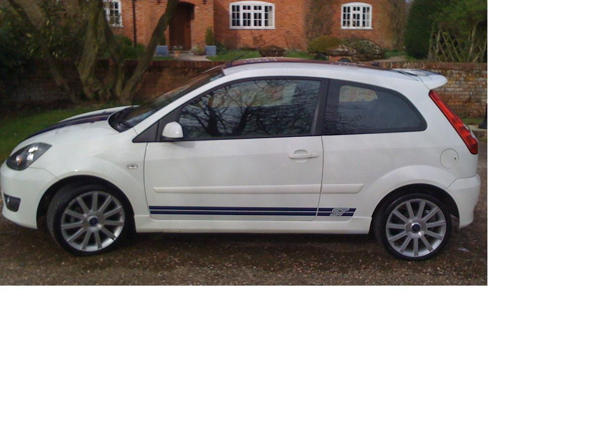 Ford Fiesta ST Forums: White
